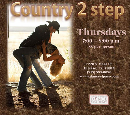 country-2-step-thursday-may-2017 - El Paso Ballroom Dance Academy
