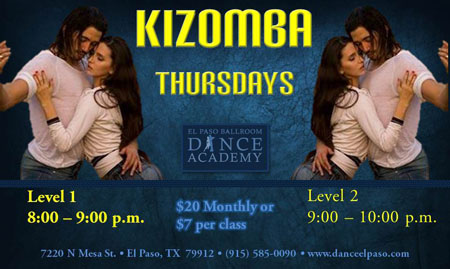 kizomba-thursdays-may-2017 - El Paso Ballroom Dance Academy