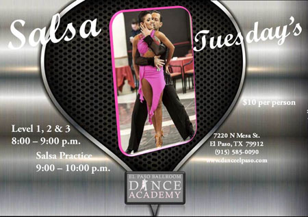 salsa-tuesdays-may-2017 - El Paso Ballroom Dance Academy