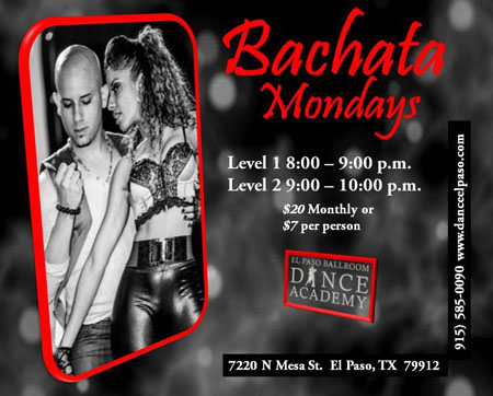 bachata-monday-may-2017 - El Paso Ballroom Dance Academy
